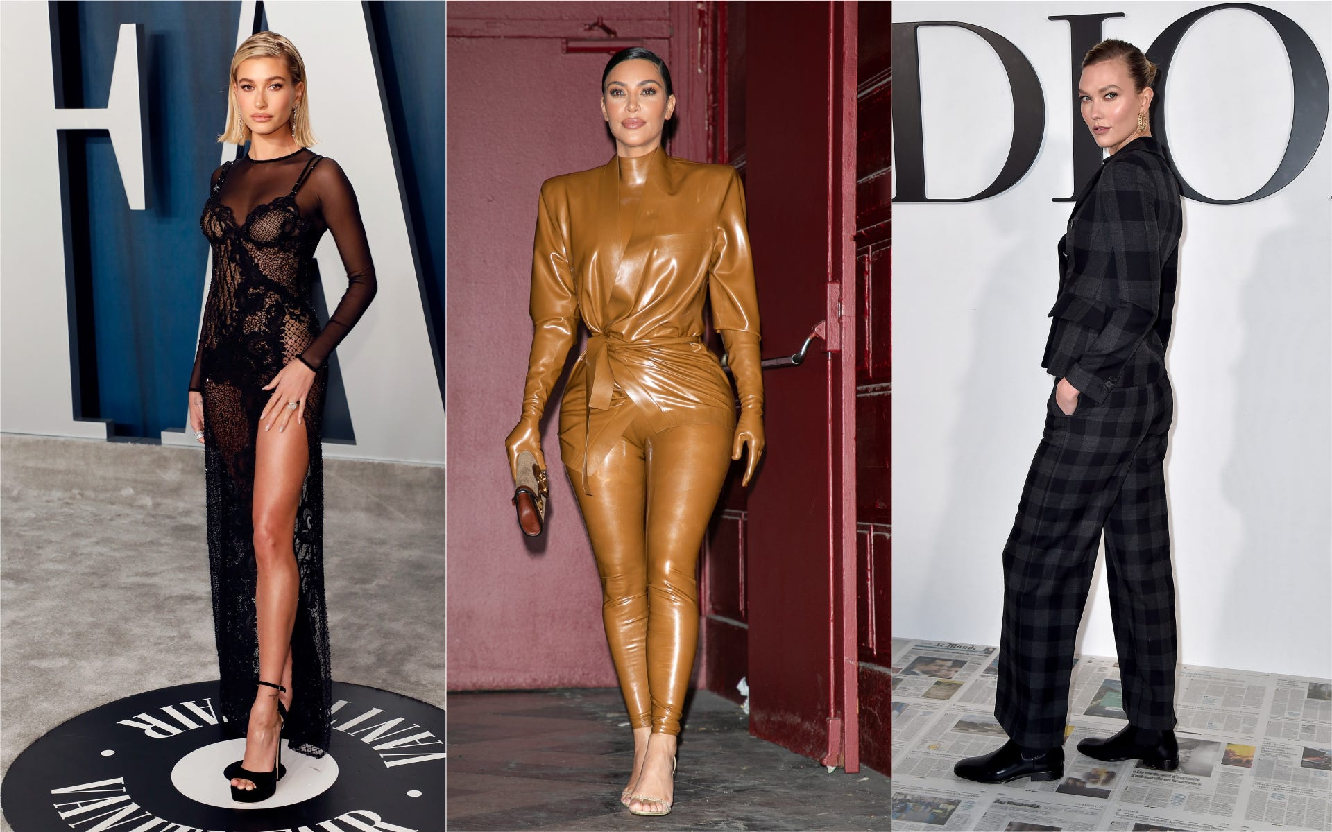 Kim Kardashian, Hailey Bieber, More Stars Hit the Virtual Runway for Coronavirus Relief