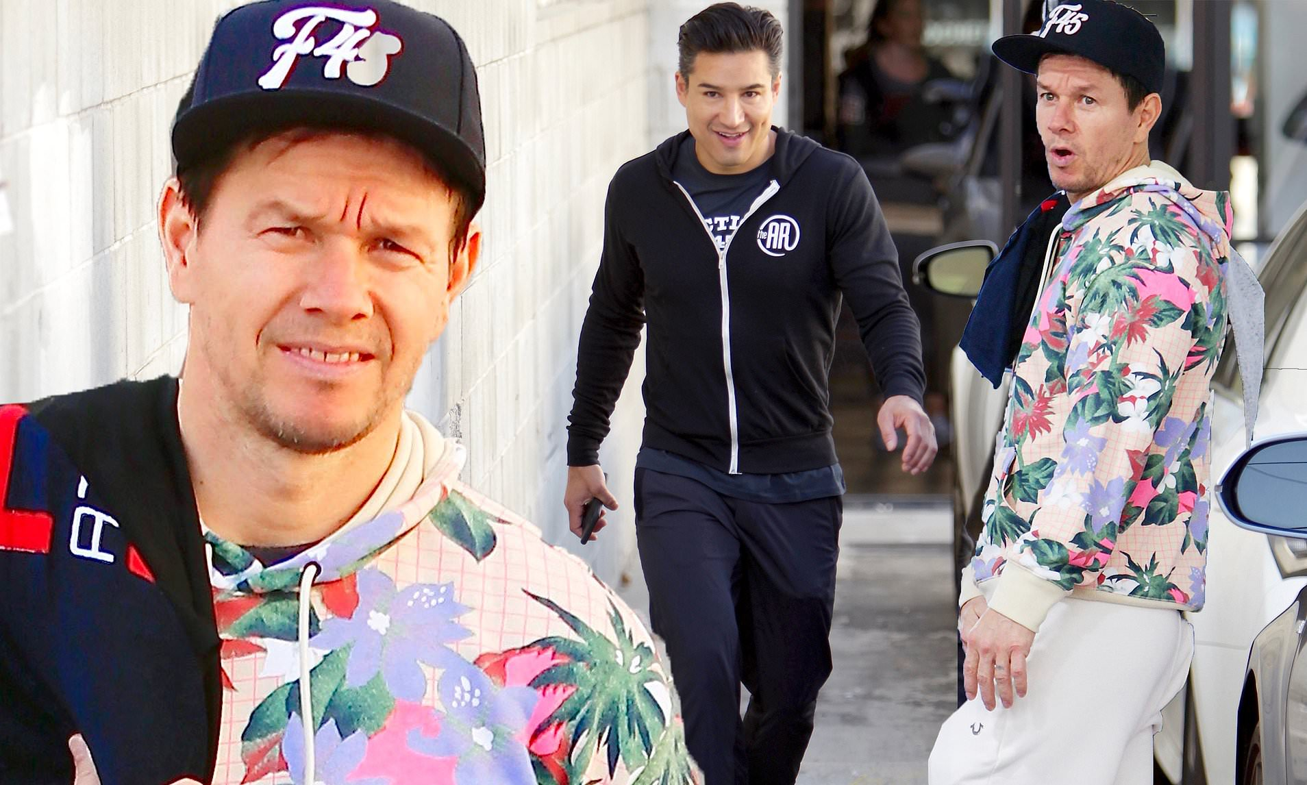 Mark Wahlberg and Mario Lopez Slammed for Joint Training at Gym After Encouraging Fans to Stay Home Amid the Pandemic