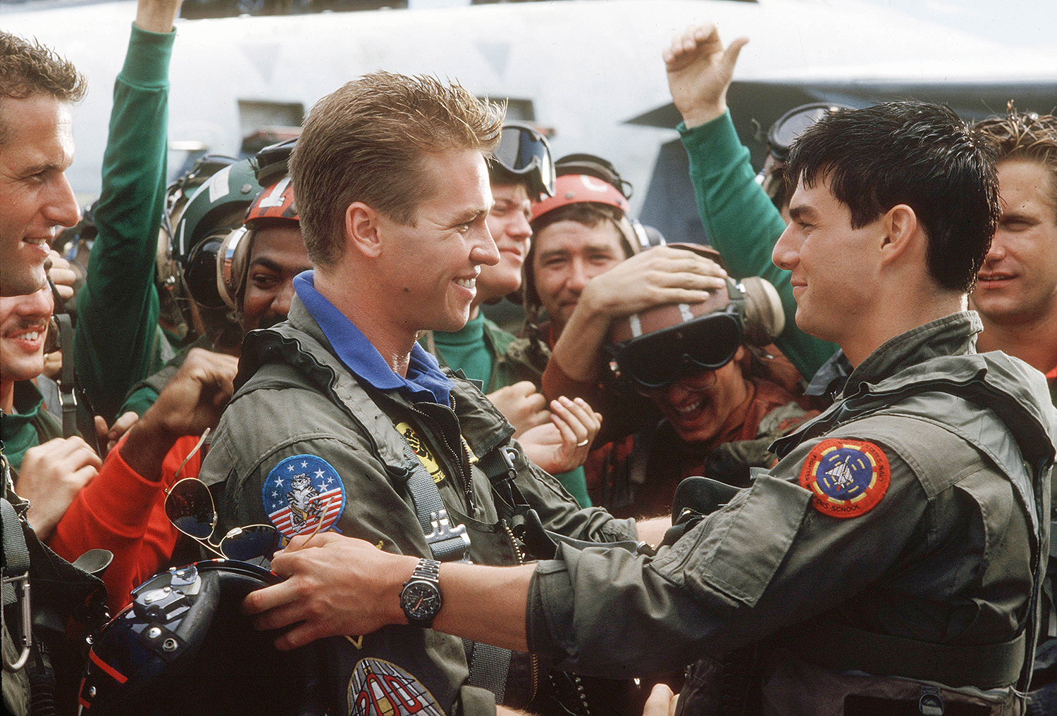 """He Has Only One Switch"", Tom Cruise's Wingman in 'Top Gun', Anthony Edwards, Says"